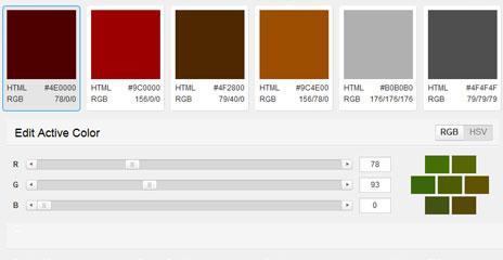 web design harmonie couleur. Black Bedroom Furniture Sets. Home Design Ideas